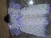 Baby Girls Crochet Dress handmade