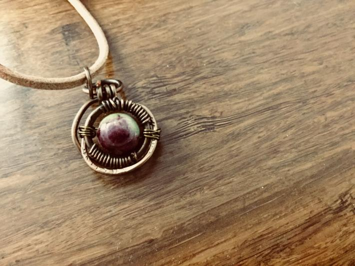 Jade small pendant