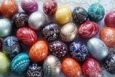 engraved easter eggs easter gift easter decoration