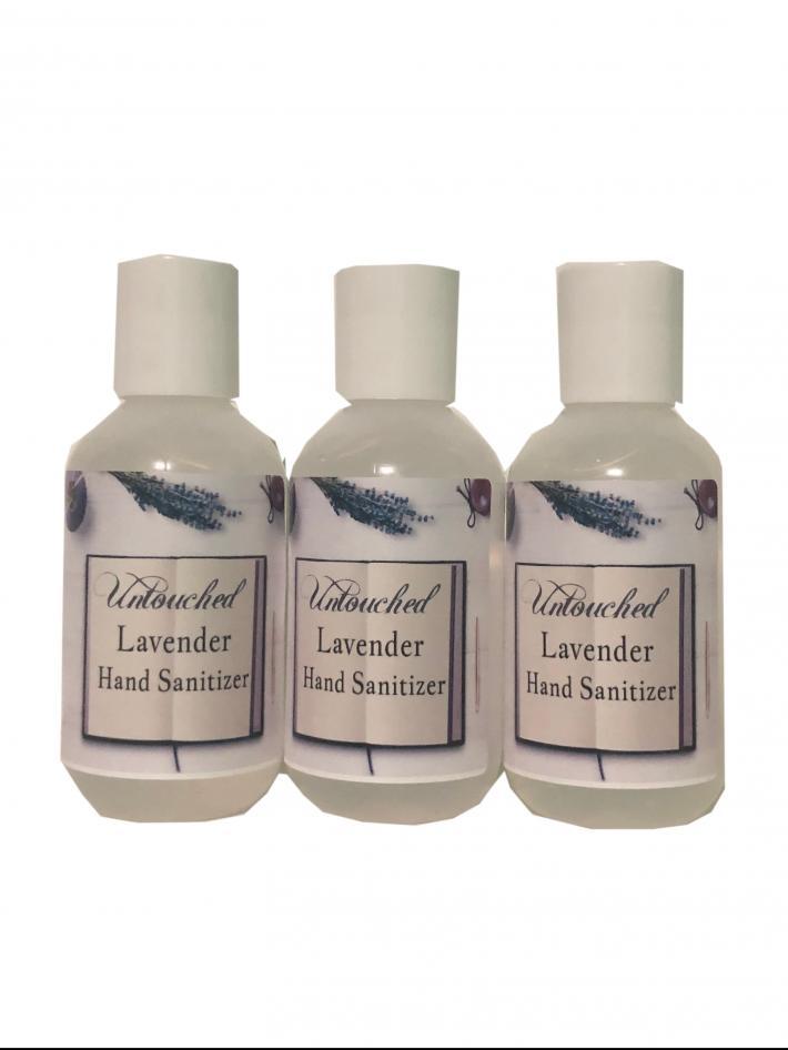 62 Ethyl Alcohol Lavender Hand Sanitizer  2 oz