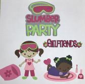 Slumber Party Scrapbook Die Cut Set
