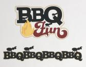 BBQ Fun Scrapbook Die Set