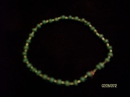 Green Beaded