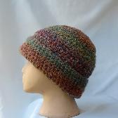 Warm Beanie Hat Hand Crocheted ch0104