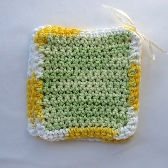 Hand Crocheted Dish or Wash Clothes Set