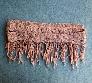 Hand Crocheted Sassy Pink Super Skinny Scarf cs004