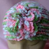 Little Girls Roaring  20s Handmade Pillbox Hat kh0154