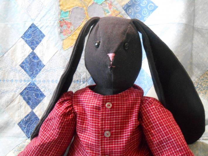 Alfie 20 Inch Bunny Doll Rabbit Hare With Clothes