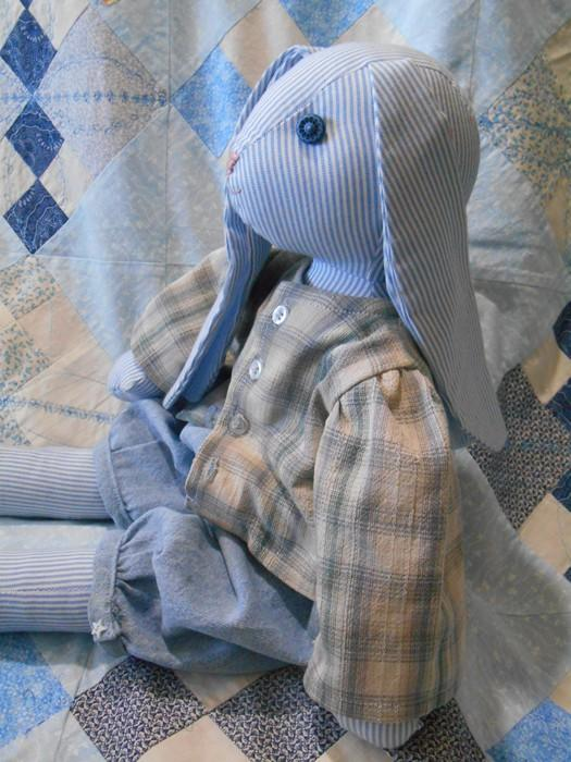 Benjamin Bunny Rabbit Hare Boy Doll 20 Inches