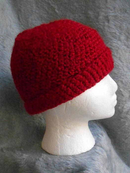 Candy Apple Red Unisex Warm Winter Hat