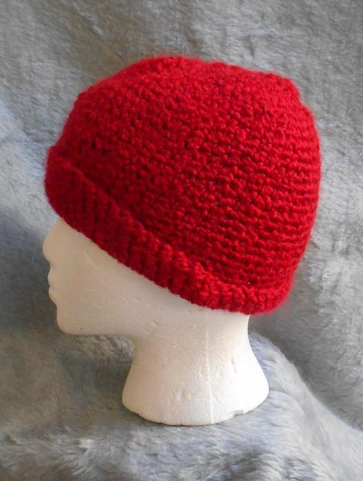 Candy Apple red Warm Winter Scarf