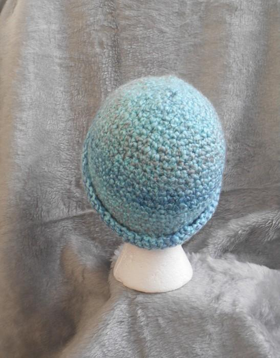 Caribbean Blue Waterfall Winter Hat