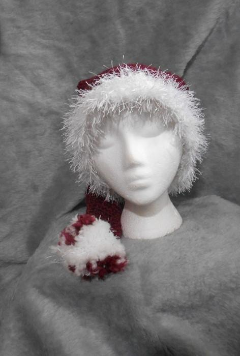 A Little Bit Different Winter Santa Hat