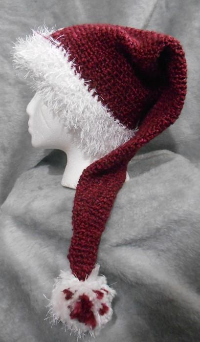 A Little Bit Different Winter Santa Hat