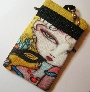Masquerade Ball Art Print Cell Phone Bag by Brenda Miller