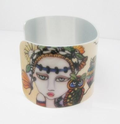 Woodland Fairies Cuff Bracelet