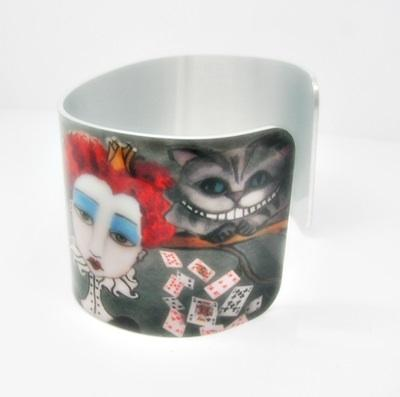 Alice In Wonderland Cuff Bracelet