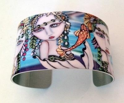 Mermaids Cuff Bracelet
