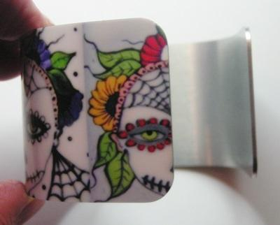 Day Of The Dead Cuff Bracelet