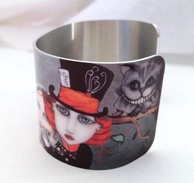Red Queen Cuff Bracelet