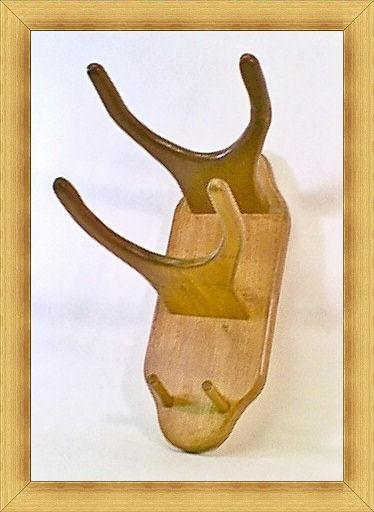 THE ALAMO Western Hat Coat Rack Mod No 2VP