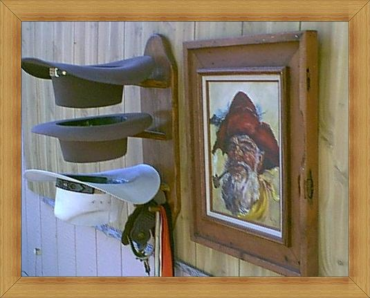 THE DURANGO Hat and coat Rack Mod No 3VP