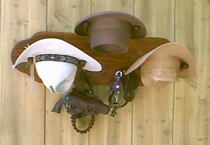 THE TAHOE Cowboy Hat Rack Model No 3HP