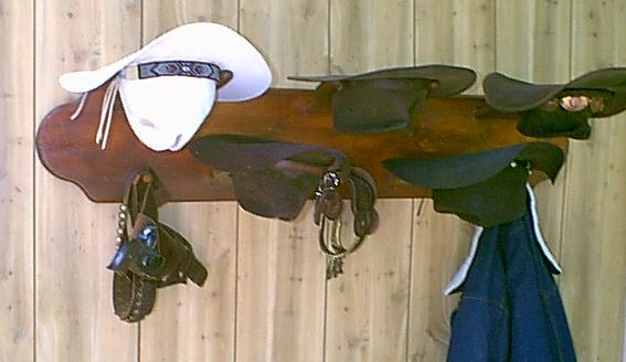 THE OCOTILLO Western Hat Rack Mod No 5HP