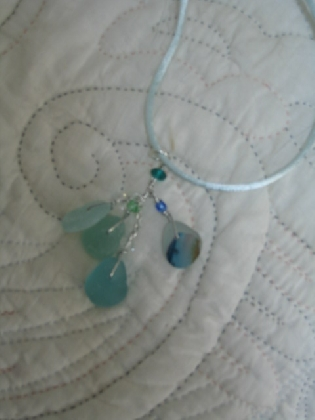 English Sea Glass with Multi