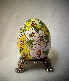 Hand Painted Egg Faux Faberge´
