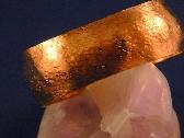 Texture Hammered Copper Cuff