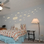 Fluffy Clouds in the Sky wall decal
