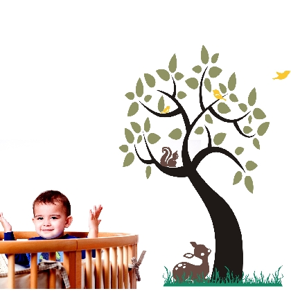 Enchanting Tree Wall Decal
