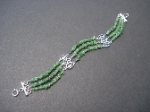 Tsavorite Green Garnet Bracelet Small Wrist