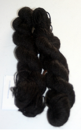Alpacablacka True Black Worsted Yarn