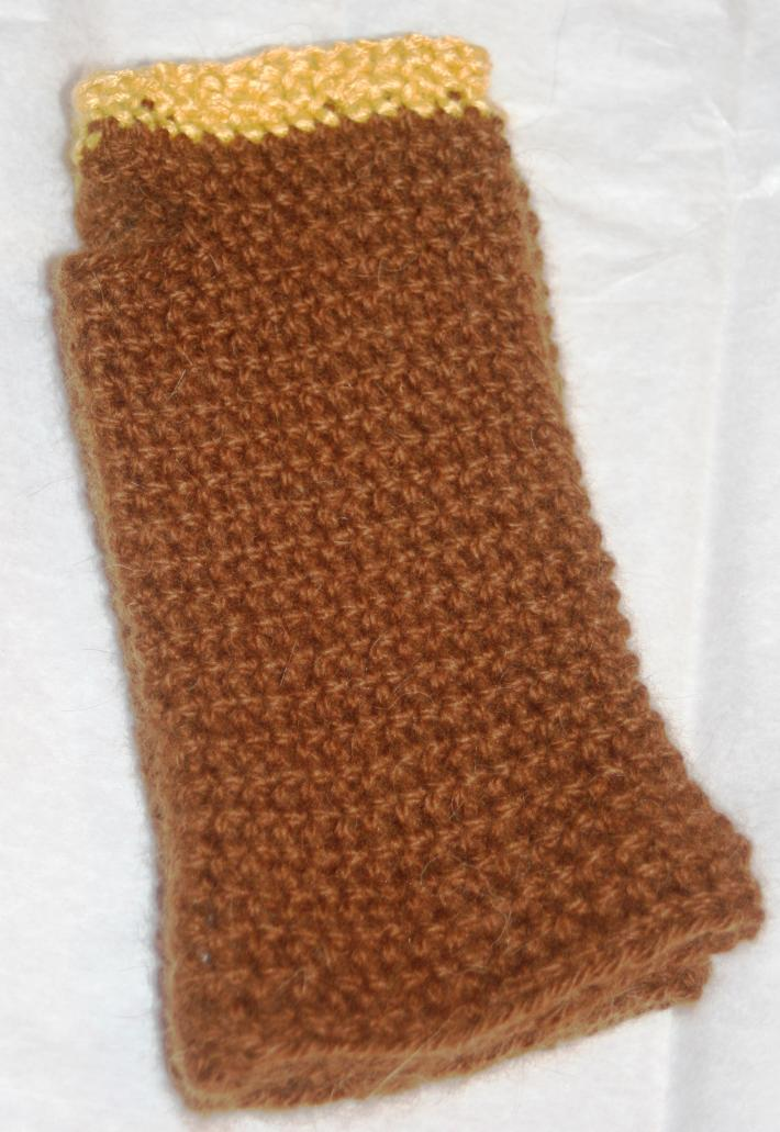 3 Hawk Alpacas Hand Crocheted Arm Warmers