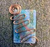 2MCHFN blue metallic and wire pin