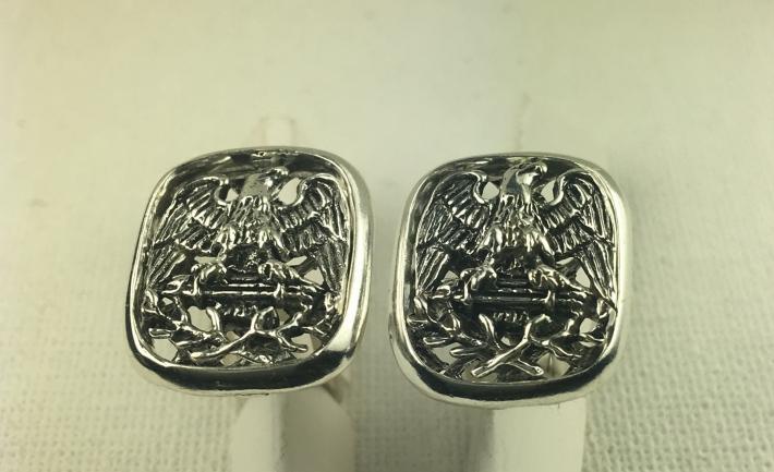 American Eagle Cufflinks sterling silver