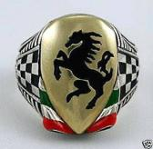 Italian Stallion ring sterling silver