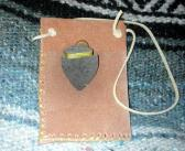 Leather Pouch with Arrow Head