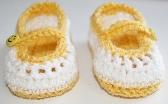 Crochet Baby Maryjanes