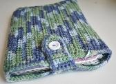 Crochet Laptop Cozy Blue