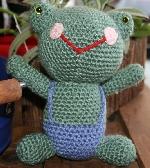 Frog Amigurumi Doll Toy