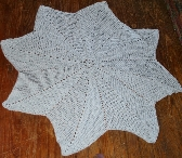 Star Afghan for Baby