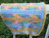 Sunny Rainbow Baby Blanket