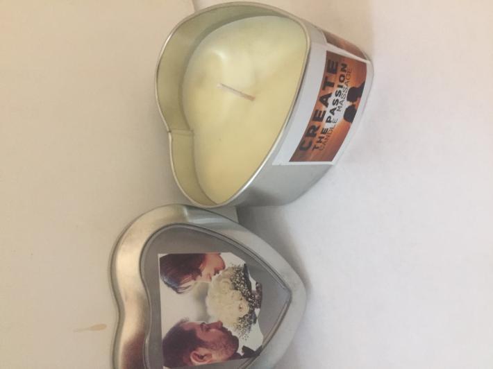 Natural Soy Lavender  Massage Candle