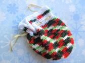 Crochet Christmas Gift or Keepsake Pouch Bag