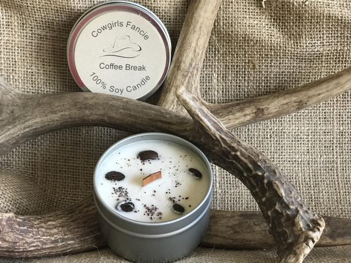 Coffee Hazelnut Latte Soy Candle