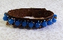 Leather  and Turquoise Bracelet By TamsJewelry