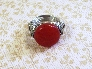 Ruby Red Wire Wrapped Ring By TamsJewelry